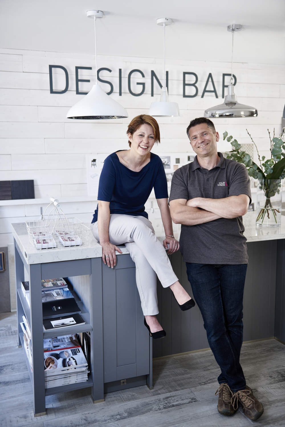 Kitchen showroom founders Jo and Mike
