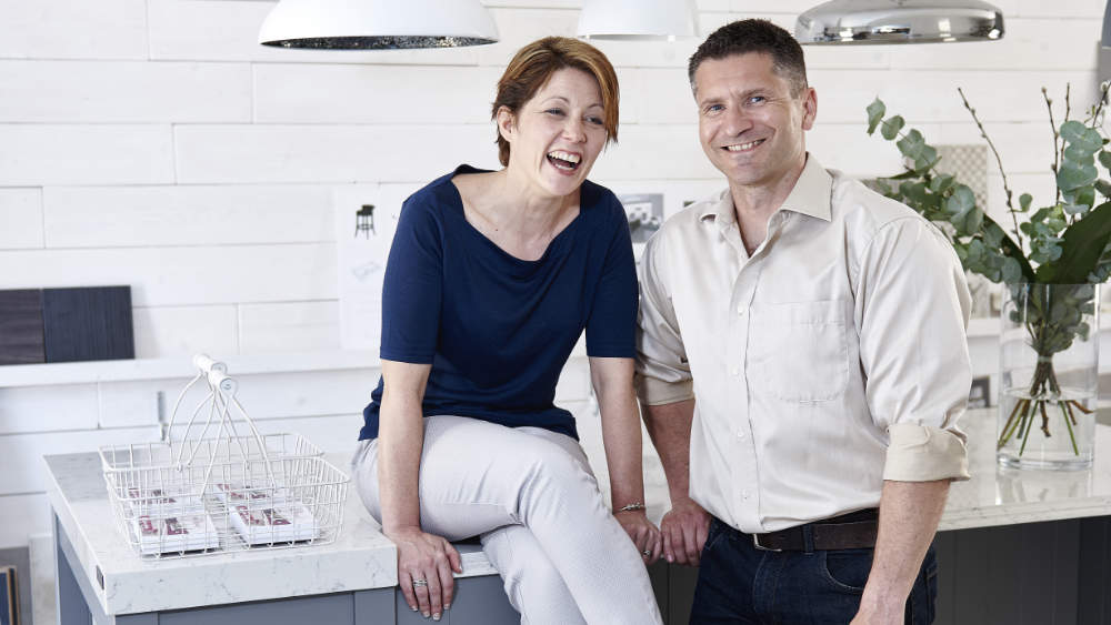 Jo and Mike Buckerfield of Your Space Living