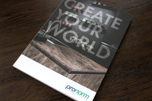 Pronorm kitchens brochure