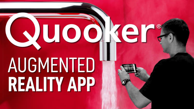 The Quooker AR App Video