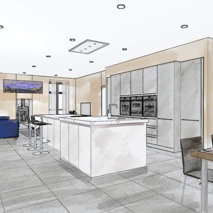 Kitchen visualisation