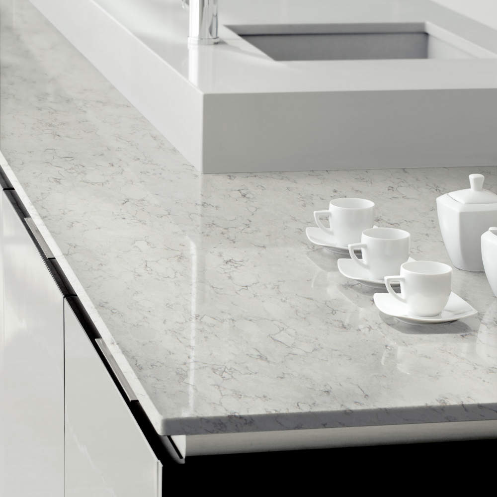 Silestone kitchen worksurface