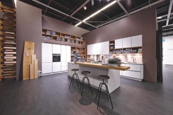 Schuller kitchen Nova handleless kitchen