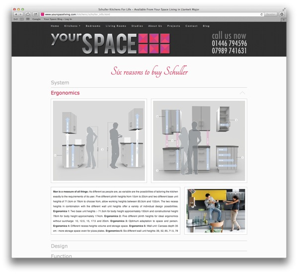 your space living website