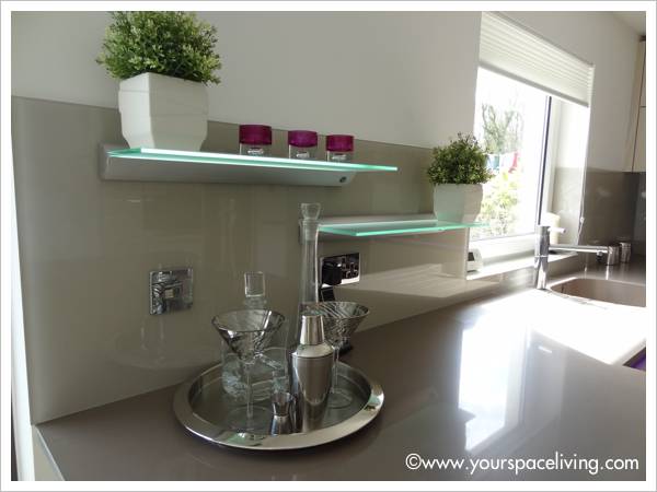 Schuller kitchen with Silestone worktops