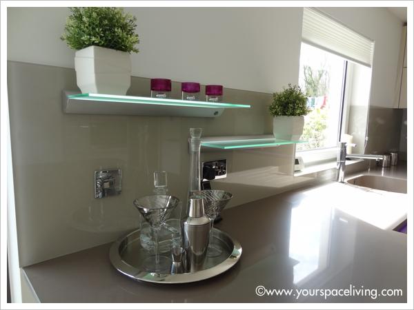 Schuller kitchen with Silestone worktops