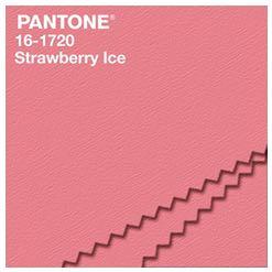 Pantone strawberry ice
