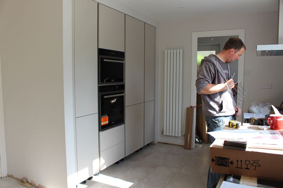 new Schuller kitchen renovation in Llantwit Major the vale of glamorgan