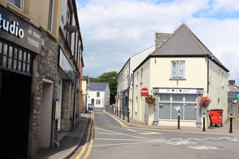 Commercial Street Llantwit Major in 2016