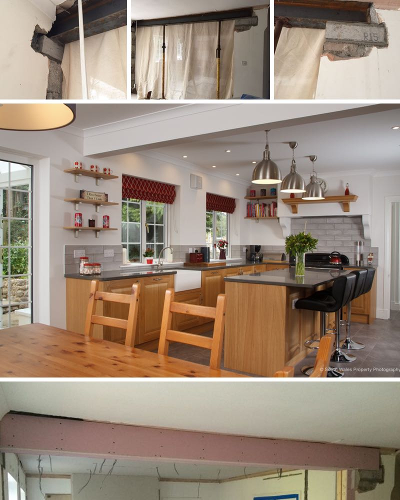 a recent open plan kitchen project