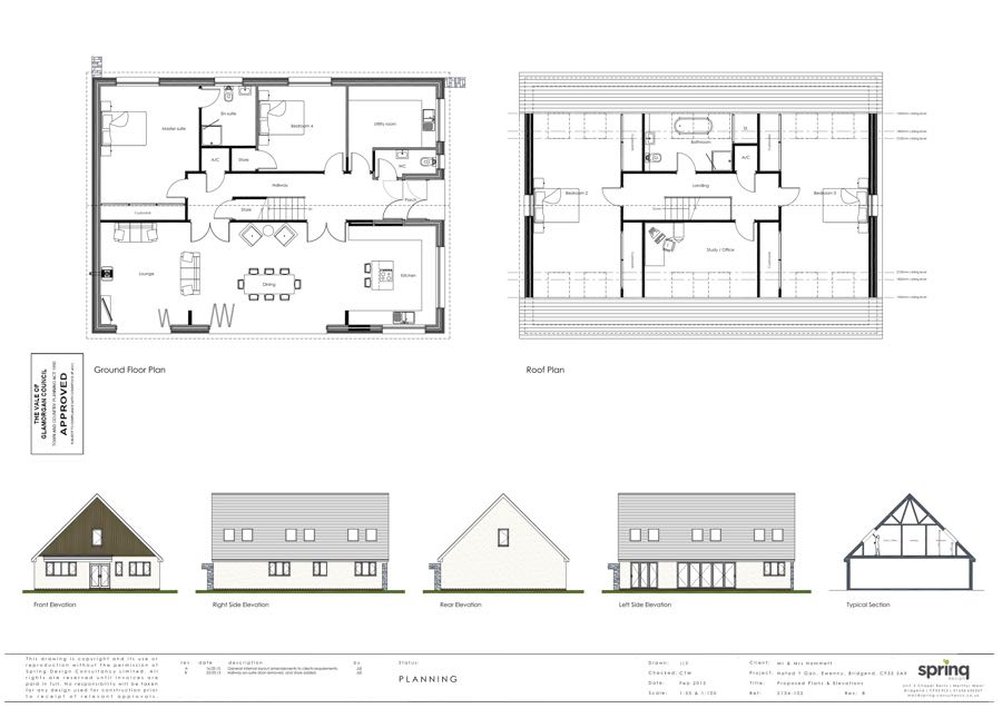 converting a bungalow into a house
