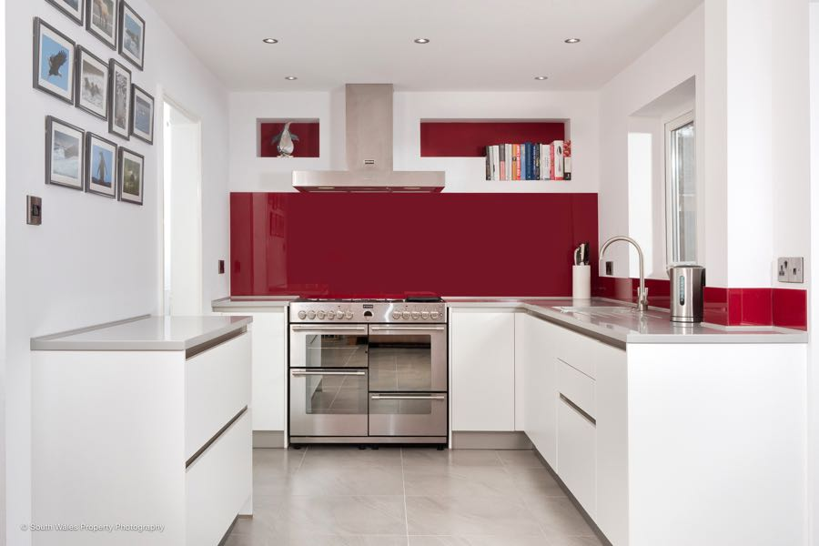 beautiful schuller kitchen in cardiff