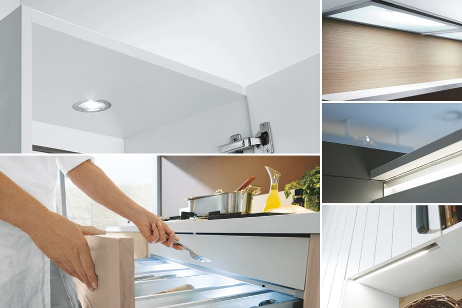 Schuller kitchen lighting solutions