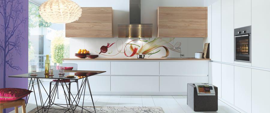 Schuller kitchen wall panels