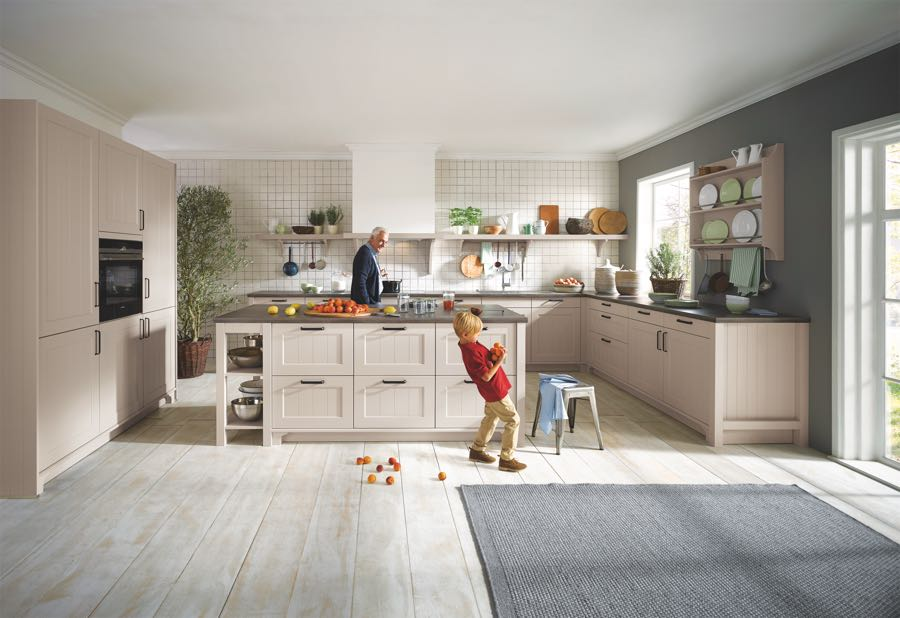 modern country kitchen Schuller Canto