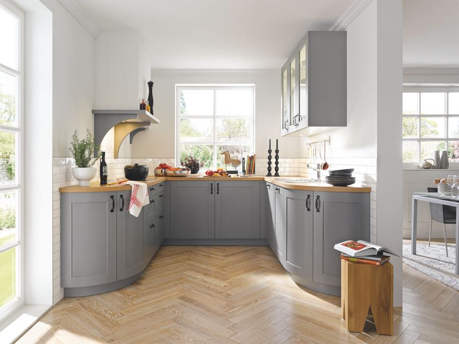 Modern country kitchens by Schuller | {Schüller canto 32}