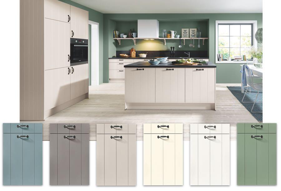 modern country kitchen Schuller Domus