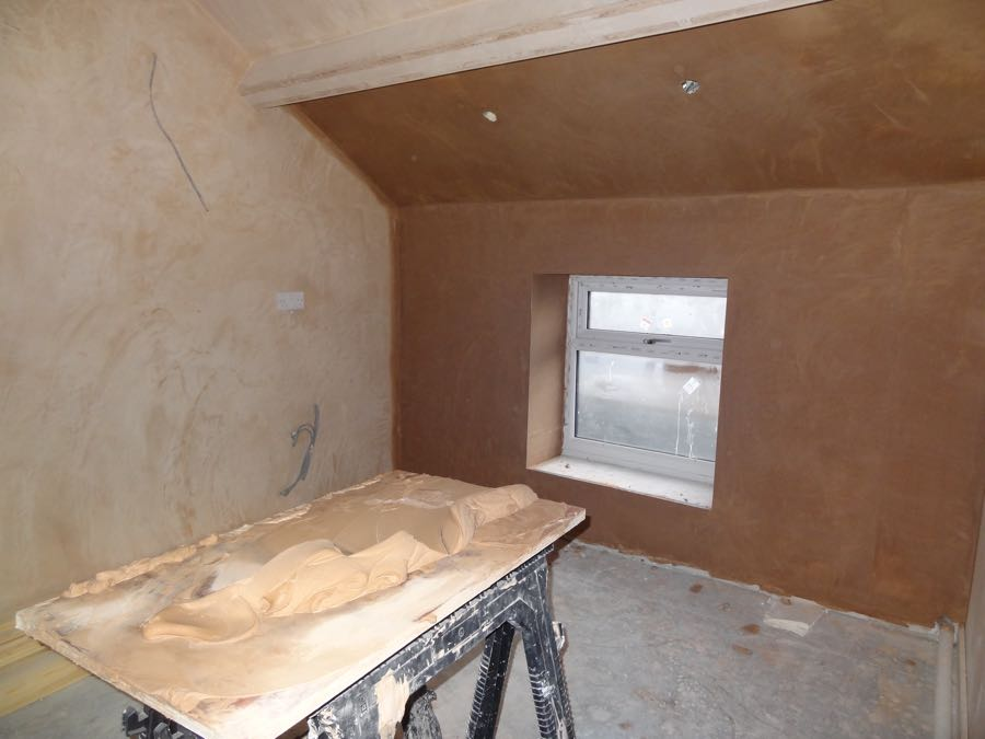 preparing a room for new kitchen