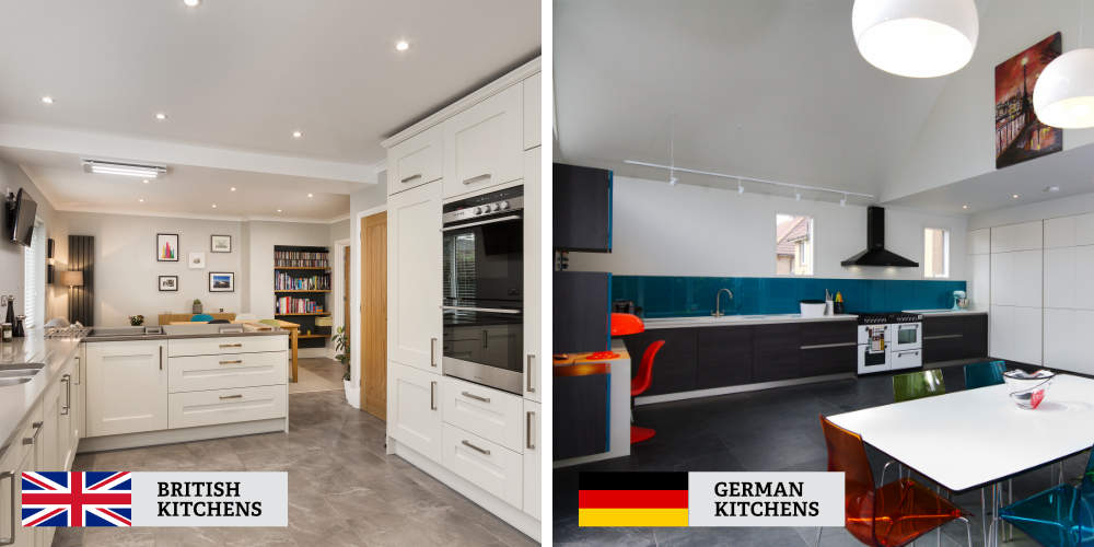British and German Kitchens