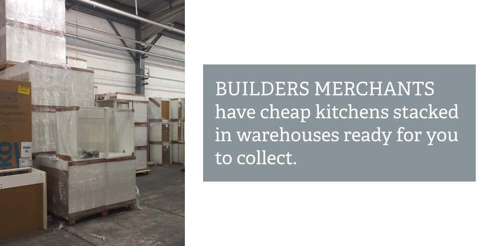 low cost kitchen from builders merchant