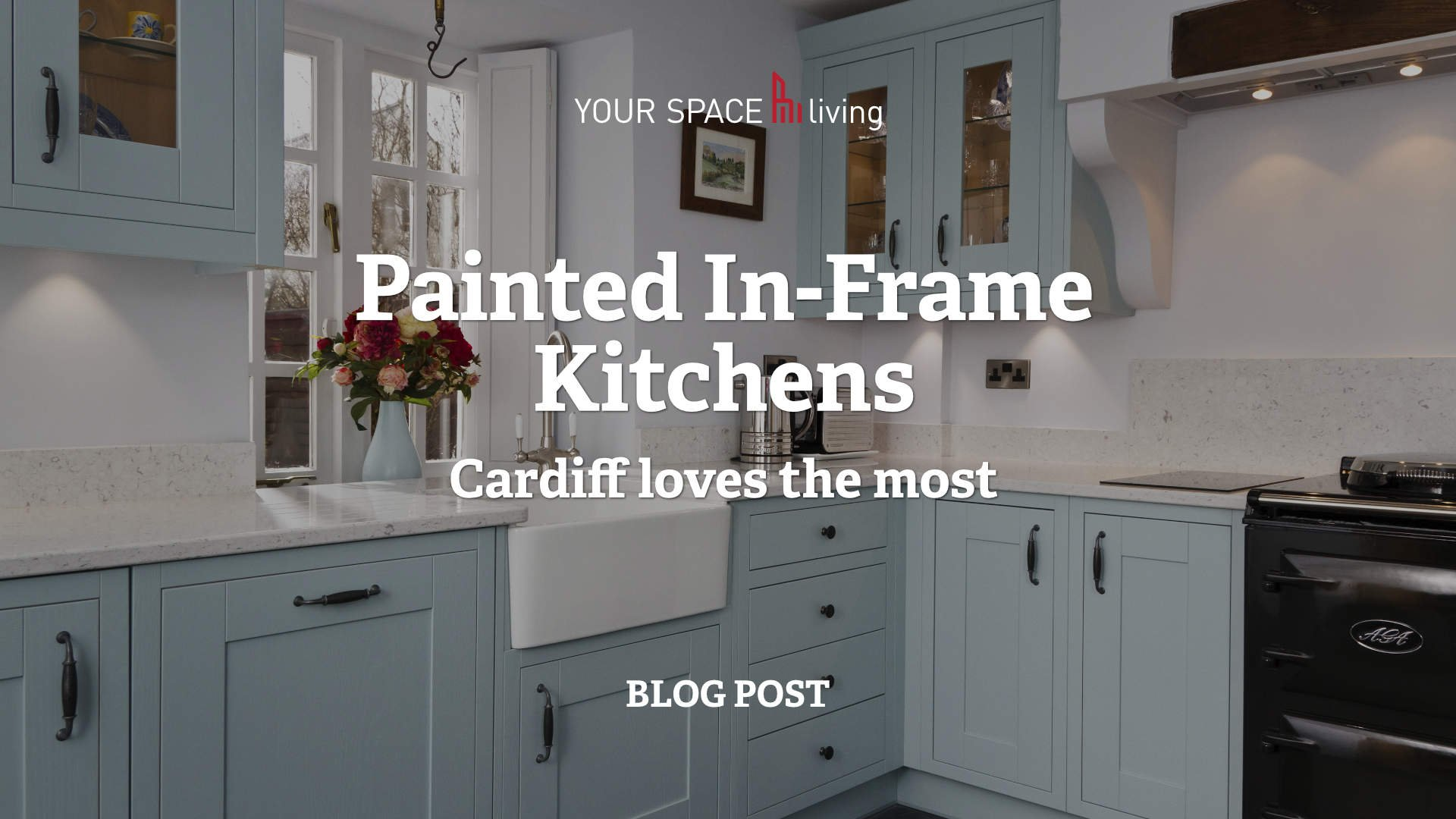 Painted in frame kitchens
