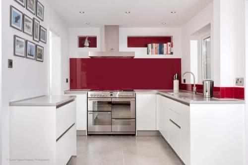 Contrast kitchen