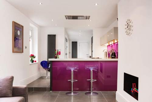 Family kitchen in Barry South Wales