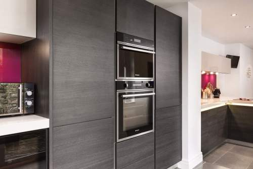Hotpoint ovens in this German kitchen in Barry South Wales