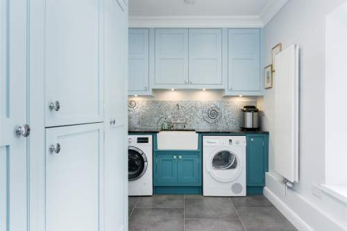 stunning utility room sink area