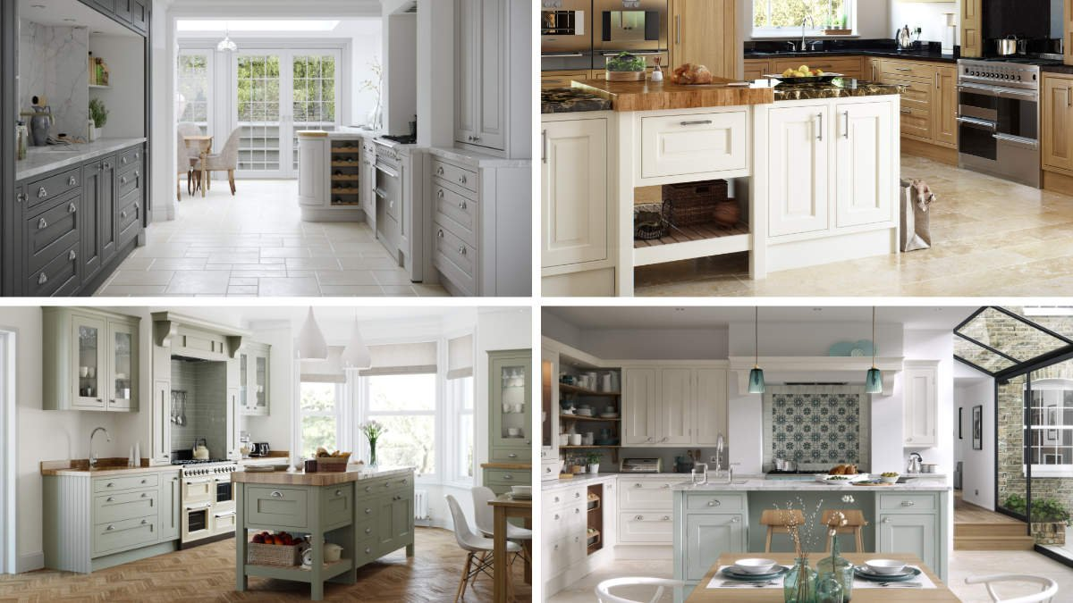 four in-frame kitchens