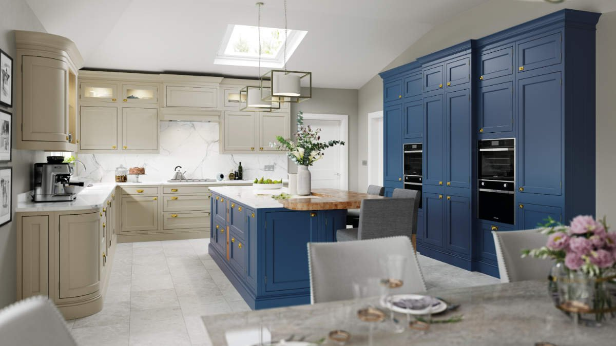 The Belgravia In-Frame kitchen