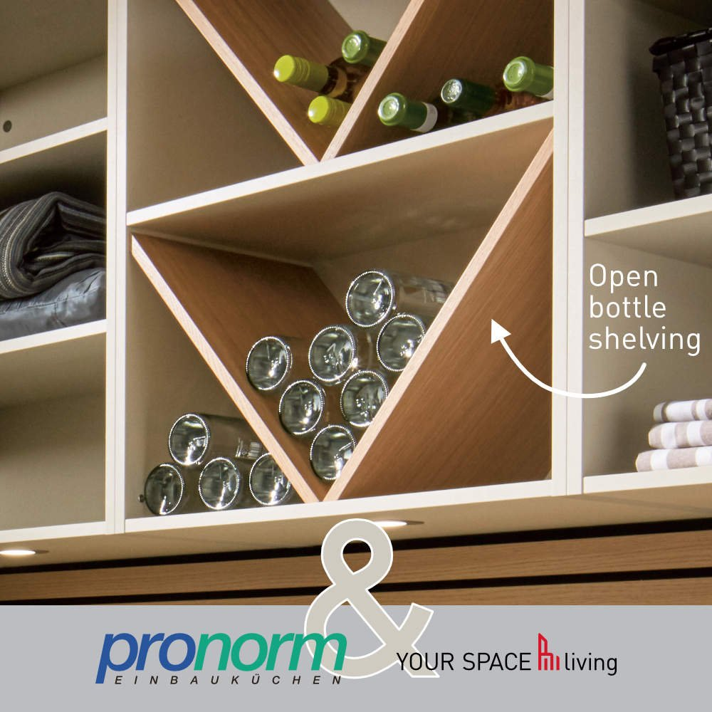 Pronorm wine storage