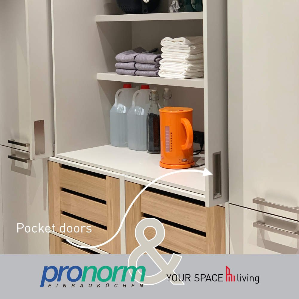 Pronorm pocket doors